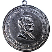 Lincoln Essay Medal 1909 Made by Shreve & Co.