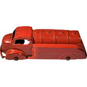 1940 Tootsietoy Die Cast Red Fuel Truck
