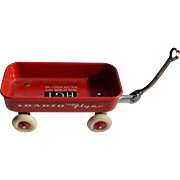 1964 World's Fair Radio Flyer With Advertisement Label  201