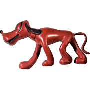 Disney Sieberling Rubber Co. Pluto With Tail