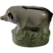 Porcelain Miniature Piggy Bank