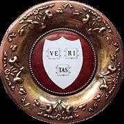 O'Hara Dial Company Harvard Brass Coaster