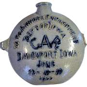 1900 GAR 26th Annual Encampment Pottery Canteen