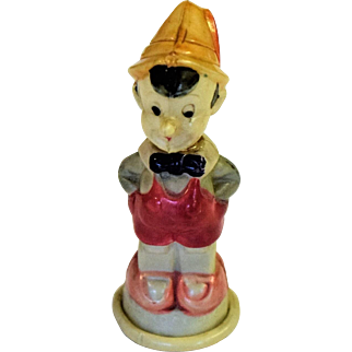 Vintage Disney Celluloid Pinocchio Pencil Sharpener