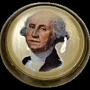Vintage George Washington Bridle Rosette