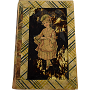 19th Century Papier Mache Box With Lid