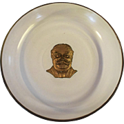 President Taft Bowl With Goofus Paint