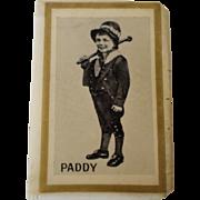 Celluloid Ireland Souvenir Match Box Holder Made in Great Britain