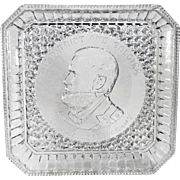Ulysses S Grant 1885 Square Bread Tray