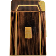 Metalfield Alladdin Cigarette Case With Automatic Lighter