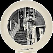 Copeland Spode Cambridge Plate Longfellow's Hallway
