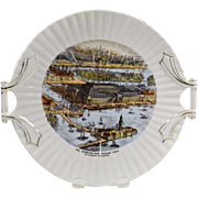 Rare 1893 Chicago World's Fair Souvenir Plate