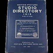1919 Hollywood Studio Directory