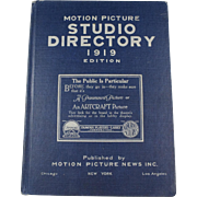 1919 Hollywood Studio Directory