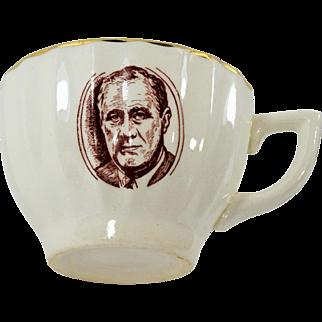 Franklin Roosevelt Tea Cup