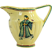 Italian Majolica Water Pitcher