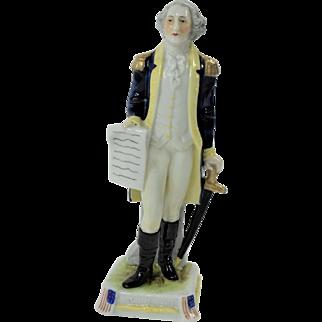 Schiebe Asbach Porcelain Figurine of George Washington