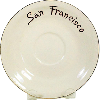 MIJ San Francisco Saucer - Republican Convention 1956