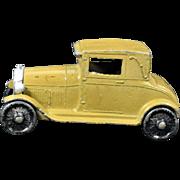 1928 Tootsie Toy Khaki Ford Model A