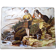 Gray's Pottery Hand Painted Trinket Box