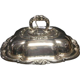 William Adams divided double serving entree dish