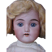 "16"" - 5 3/4 My Sweetheart BJ&CO (B. Illfelder & Co.)  Antique German Bisque Doll"