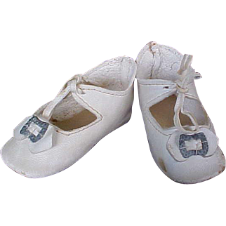Vintage Antique Doll Shoes for your German child doll