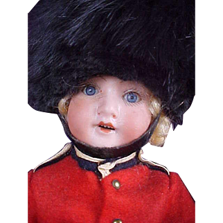 "Adorable 10"" Fully Jointed English Guard"