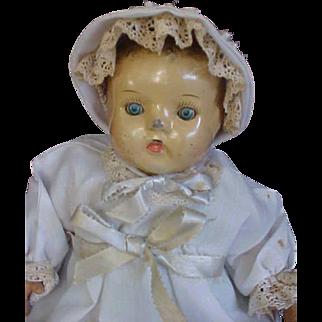 Terrific Tin Head Toddler Doll