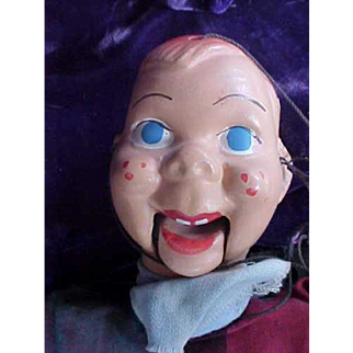 Vintage Composition Howdy Doody Marionette Puppet 1950's