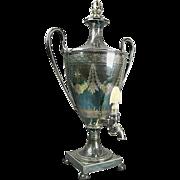 Early 19th Century English Regency Silver Plate Samover/Tea Urn by Elkington