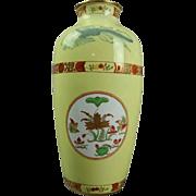 Antique Tiffany & Co. Spode Porcelain Aesthetic Style Floral Vase, circa 1900