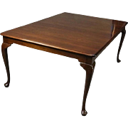 L. & J.G. Stickley Cherry Valley Collection Dining Table with Four Leaves