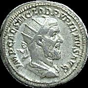 PUPIENUS; Ancient Roman Silver Antoninianus; Rome Mint