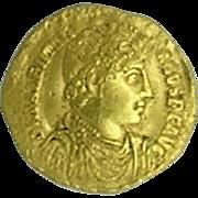 Valentinian I; Roman Gold Solidus; Antioch Mint