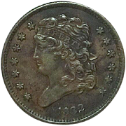 U.S. Half Cent; 1832; High Grade