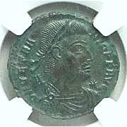 VETRANIO; Ancient Roman Emperor 350 AD