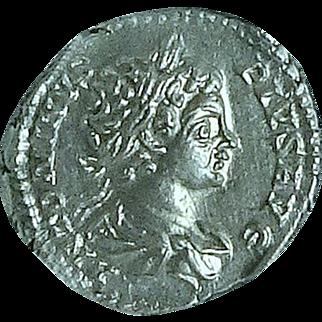 CARACALLA; Ancient Roman Silver Denarius; Rome Mint