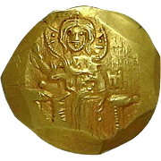 JOHN III; Empire of Nicaea; Gold Coin (24mm, 4.28g)