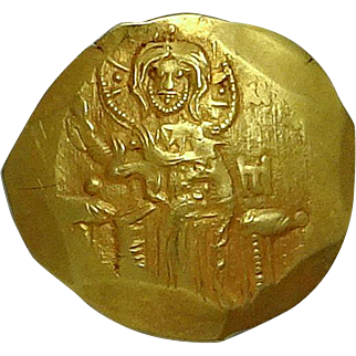 JOHN III; Empire of Nicaea; Gold Coin (24mm, 4.28g)