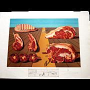 """Salvador Dali """"Les Entre-Plats Sodamises"""" Les Diners de Gala, 1977 Lithograph 149/395"""