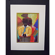 """Diana Shannon Young """"Big Love"""" Limited Ed Signed/Numbered Print w/Mat, No Frame"""