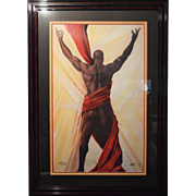 """Kevin Williams WAK """"Behold II"""" Signed/Numbered Limited Edition Print 34.5 x 48.5"""