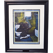 "Karien Zachery ""The Original Thinker"" African American Art Signed & Numbered"