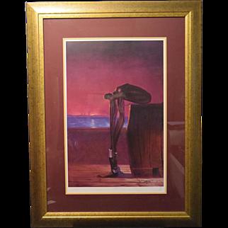 Kadir Nelson 'Stolen King' Limited Edition Signed/Numbered Print Framed 445/500