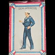 "Real WWI Era US Navy American Original Poster Print 8"" x 12"""