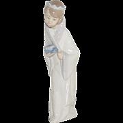 "Vintage LLadro Nativity Set King Gaspar #4674 w/Box 8.5"" tall - Mint Condition"