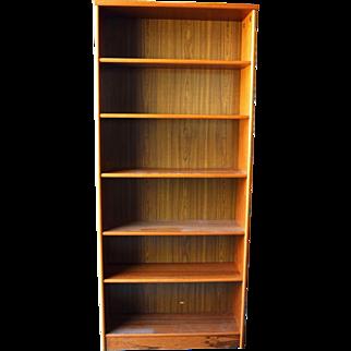Mid Century Modern Danish Teak Bookcase/Bookshelf Made in Denmark - Local Pickup Only