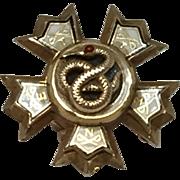 10k Sigma Nu Fraternity Pin