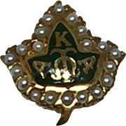 10k Alpha Kappa Alpha Sorority Pledge Pin